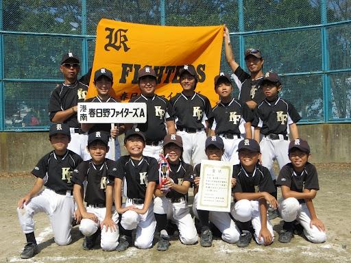 【2012.10.8】Aチーム学童秋季大会第3位!